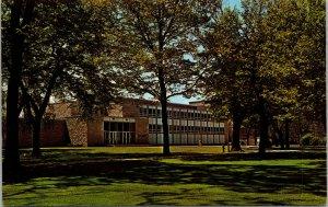 Vtg Casper Youngchild Science Hall Lawrence University Appleton WI Postcard