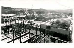 NH - Hanover. Dartmouth College, New Construction in 1950's.   *RPPC    (crease)