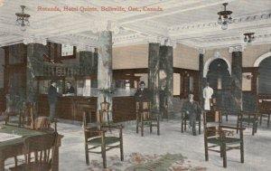 BELLEVILLE , Ontario, Canada, 1910 ; Rotunda , Hotel Quinte , version 3