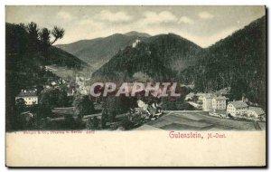 Postcard Old Gutenstein N Oest