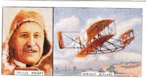 Cigarette Card: Carreras Famous Airmen & Airwomen 02 Orville Wright