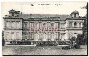 Old Postcard Prefecture Perigueux
