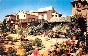 Spain Old Vintage Antique Post Card El Greco's House and Garden Toledo P...