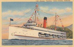 Steamer Catalina , Santa Catalina , California , 30-40s