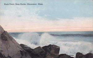 Massachusetts Gloucester Rock Point Bass Rocks