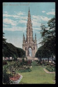 1905 US Sc #300 Scott Monument Edinburgh,UKBoston Mass to N.Cambr...