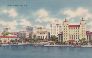 Perto Rico View Of San Juan From Waterfront