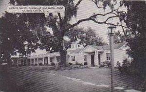 South Carolina Gardens Corner Gardens Corner Resturant and Motor Hotel Dexter...