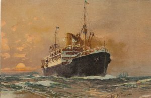 Oceanliner By artist Willy Stoweit , 00-10s