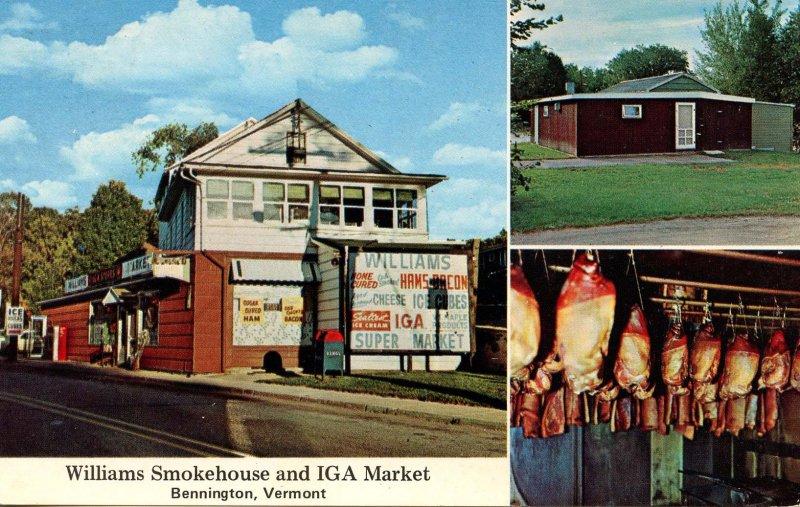 VT - Bennington. Williams Smokehouse and IGA Market