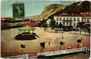 CPA AK Algérie-Philippeville-Le Place-Marqué & les Quais (236748)