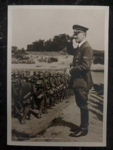 1941 Lublin Germany Real picture Postcard RPPC cover commander on the east front
