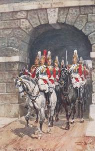 Harry PAYNE : Kings Guard at Whitehall , 00-10s ; TUCK