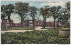 Albany City Hospital, ALBANY, New York, PU-1911