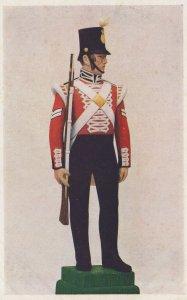 Captain 1st Regiment Grenadier Royal Scots Review Order 1950 Postcard