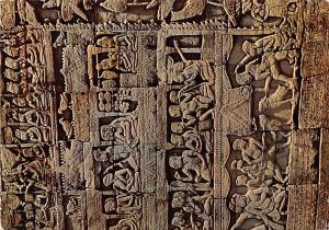 Siemreap Cambodia, Cambodge Bas relief du Bayon Siemreap Bas relief du Bayon