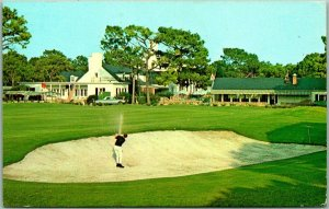 Myrtle Beach, SC Postcard PINE LAKES INTERNATIONAL COUNTRY CLUB Golf Course 1975