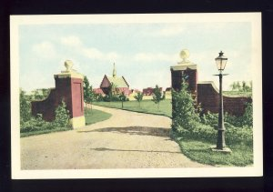 Scarboro, Maine/ME Postcard, Den Danske Landsby ( The Danish Village