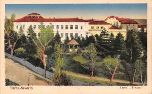 Romania Mehedinti Drobeta-Turnu Severin Liceul Traian High-School 1935