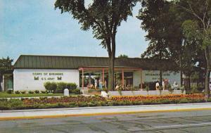 Information Center , SOO LOCKS , Sault Ste. Marie , Michigan , 40-60s