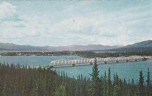 Nisutlin Bay Bridge, Mile 803 Alaska hiway,Teslin Lake , Canada , 50-60s
