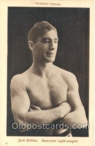 #8 Jack Britton Boxing Series Unused Minimal corner wear