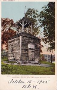 Massachusetts Lexington Old Belry Where Paul Revere Rang The Alarm 1905