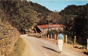 H2/ Aberdeen Brown County Ohio Postcard Scofield Covered Bridge