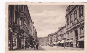 Saarbrucken, Saarland, Germany, 1900-10s ; Obere Bahnhofstrasse