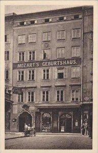 Austria Salzburg Mozart's Geburtshaus