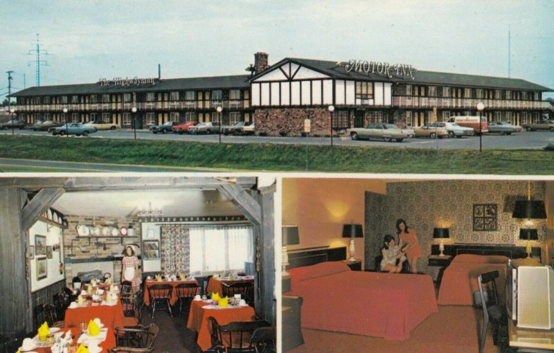 ST. CATHARINES , Ontario, Canada, 1950-60s ; Highwayman Motor Inn