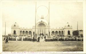 philippines, MANILA, Auditorium of the Magallanes Carnival (1910s) RPPC Postcard