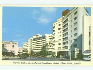 Pre-1980 CASABLANCA & STEPHEN FOSTER HOTEL Miami Beach Florida FL HQ2355