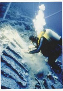 ULUBURUN, Turkey, 2008; Excavation of 10 Tons of Copper Ingots, Shipwreck