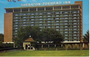 Niagara Falls, Ontario, Canada Postcard,Sheraton-Foxhead Inn