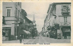 CARTOLINA d'Epoca - NOVARA : BORGOMANERO