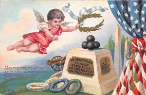 Political Postcard In Memoriam to Those Brave Soul Who gave their lives for t...