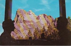 South Dakota Black Hills Mount Rushmore National Monument From The Buffalo Ro...