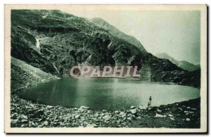 Old Postcard Luchon The Green Lake