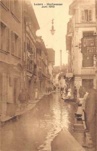 BR73668  luzern hochwasser juni 1910 flood switzerland
