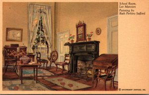Virginia Arlington Lee Mansion The School Room Painting By Ruth Perkins Safford