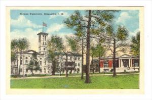 Furman College, Greenville , South Carolina, 00-10s