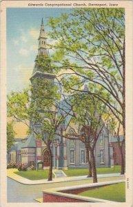 Iowa Davenport Edwards Congregational Church