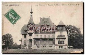 Old Postcard Around Bagnoles De L Orne Chateau du Gue aux Biches