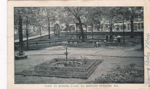 EL DORADO SPRINGS, Missouri, PU-1911; View in Spring Park