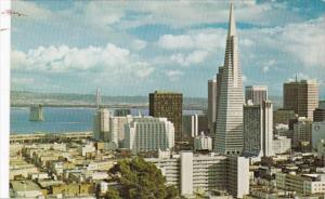 California San Francisco Downtown Viewed From Russian Hill