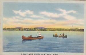 Minnesota Greetings From Buffalo 1947