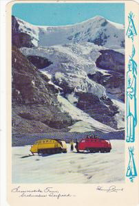 Canada Snowmobile Tour Columbia Icefield Alberta