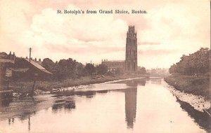 St Botolph's from Grand Sluice Boston United Kingdom, Great Britain, England ...