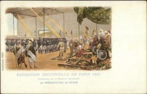 1900 Paris Exposition Universelle Mission Marchand Postcard